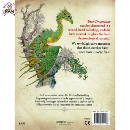 Dragonology The Colouring Companion back cover