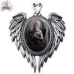 Angel Rose Cameo Pendant