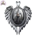 Prayer for the Fallen Cameo Pendant