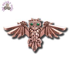 Aviamore Owl Brooch