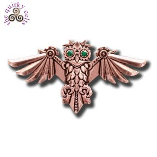 Aviamore Owl Brooch