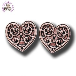Valkyrie Heart Earrings