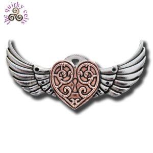 Valkyrie Heart Brooch