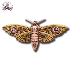 Magradore's Moth Brooch