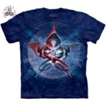 Pentagram Dragons T Shirt