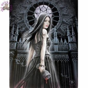 Gothic Siren Canvas Picture