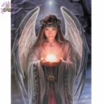 Yule Angel Canvas Picture