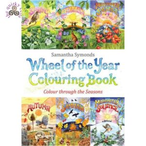 Wheel of the Year Colouring Book