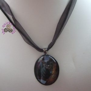 A Brush with Magick Picture Pendant
