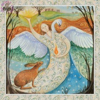 Imbolc Goddess Festival Card