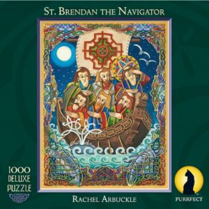 St Brendan the Navigator 1000 piece Jigsaw Puzzle