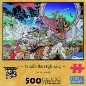 Nuadha The High King 500 piece Jigsaw Puzzle