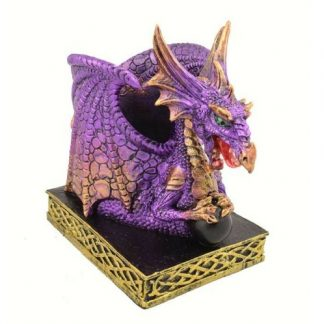 Amethyst Dragon Pen Holder