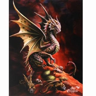 Desert Dragon Canvas Picture