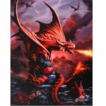Fire Dragon Canvas Picture