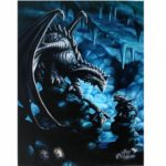 Rock Dragon Canvas Picture