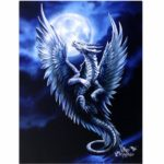 Silver Dragon Canvas Picture