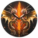 Desert Dragon Clock