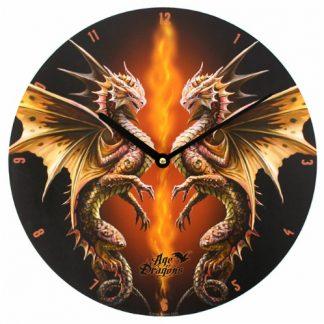 Desert Dragon Clock