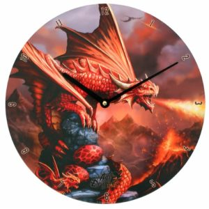 Fire Dragon Clock