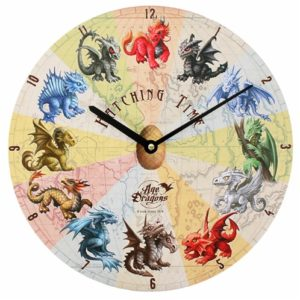 Dragon Hatching Time Clock
