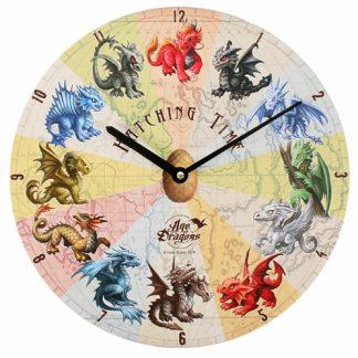 Dragon Hatching Time Clock