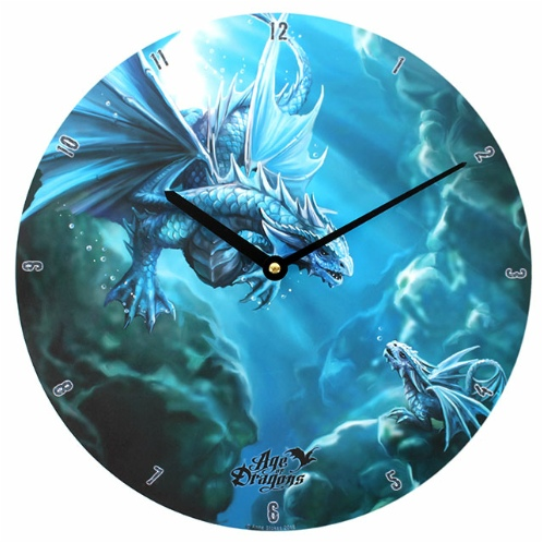 Water Dragon Clock Anne Stokes Products Age Of Dragons