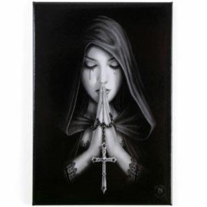 Gothic Prayer Fridge Magnet