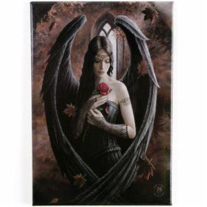 Angel Rose Fridge Magnet