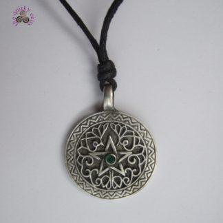 Seeker of Wisdom Wiccan Amulet Pendant