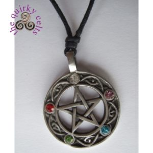 The Pentacle of Life Wiccan Amulet Pendant