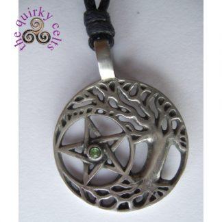 Druids Tree Wiccan Amulet Pendant