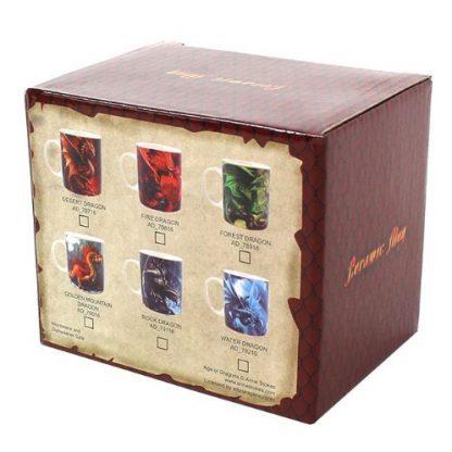 Age of Dragons Mug Box - back view