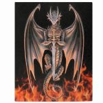 Dragon Warrior Canvas Picture