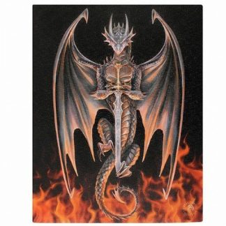 Dragon Warrior Canvas Picture