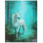 Forest Unicorn Canvas Picture