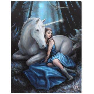 Blue Moon Canvas Picture