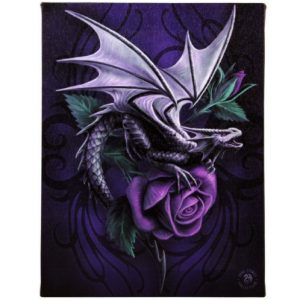 Dragon Beauty Canvas Picture