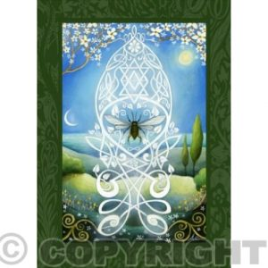 Sacred Bee Card
