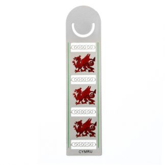 Red Welsh Dragon Bookmark