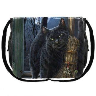 A Brush With Magick Messenger Bag