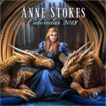 Anne Stokes 2018 Calendar