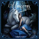 Unicorns by Anne Stokes 2018 Calendar