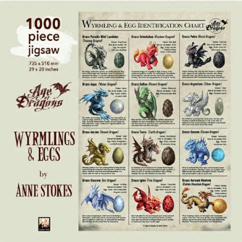 Wyrmlings and Eggs Jigsaw Puzzle