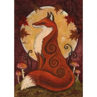 Autumn Fox Card