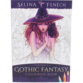 Gothic Fantasy Colouring Book