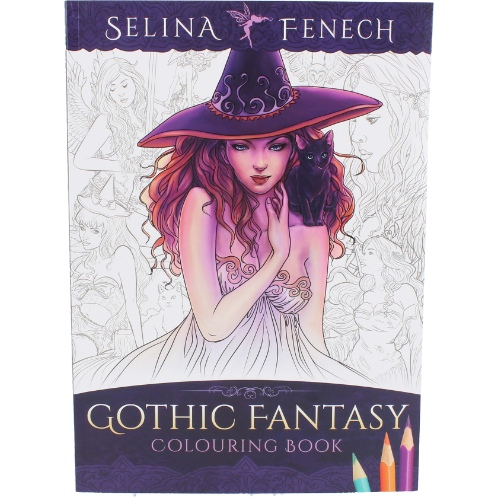 Gothic Fantasy Colouring Book