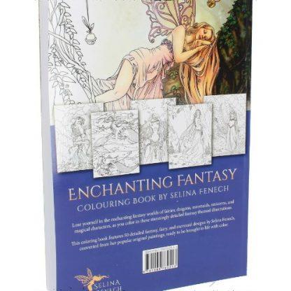 Enchanting Fantasy Colouring Book