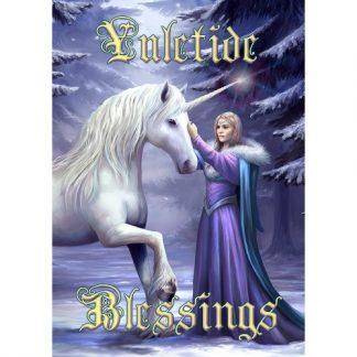 Pure Magic Yule Card