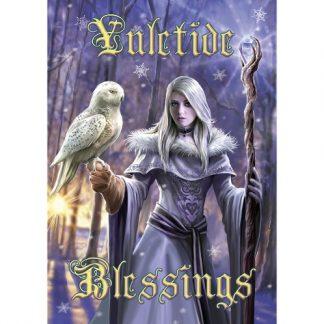Winter Owl Yule Card